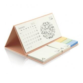 Calendarios Personalizados Sobremesa Base dura ecológico