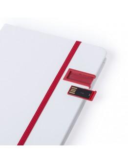 Libreta personalizada con Memoria USB / Memorias USB personalizadas