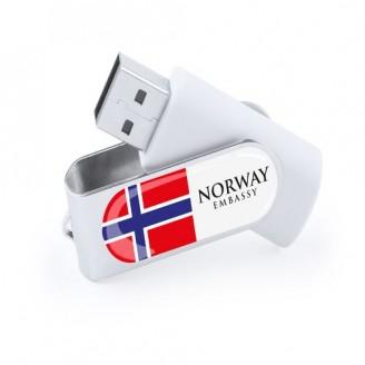 Memoria USB Personalizadas Laval 4Gb / Pendrive Personalizadas Baratas