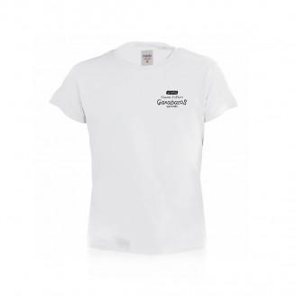 Camiseta personalizada Hecom Niño Blanca para publicidad 100% algodón