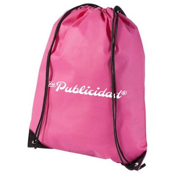 Mochila cordones publicitaria Premium eco / Mochilas Baratas Personalizadas