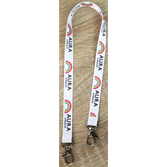 Lanyards porta mascarillas personalizados con sublimación a todo color baratos