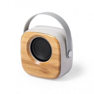 Altavoz Bluetooth de bambú Roos