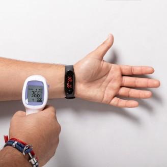 Reloj pulsera con termómetro corporal