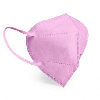 Mascarillas autifiltrantes de protección FFP2 con ajustador color Rosa