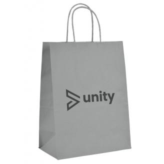 Bolsas papel personalizadas 1 cara 45x12x48