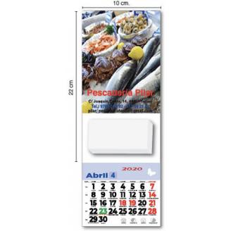 Calendario imán nevera 12x16 personalizados