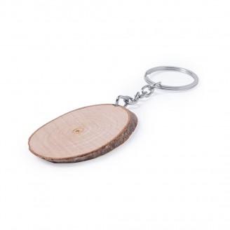 Llaveros madera haya Nature personalizados