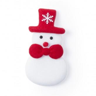Imán Muñeco de nieve de Navidad Poliéster