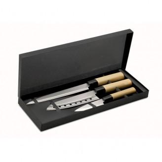 Set cuchillos cocina con estuche