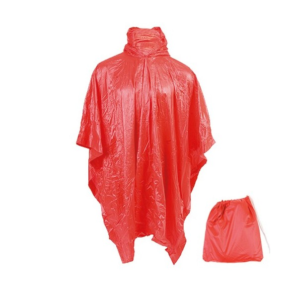 Impermeable con Mochila Fields