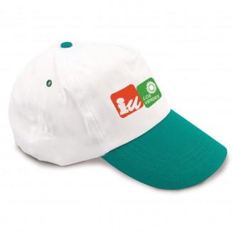 Gorras Promocionales Bicolor. Gorras Publicitarias Baratas