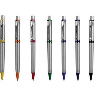 Bolígrafo publicitario RAJA Silver Chrome
