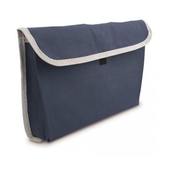 Bolsa portadocumentos. Ribete gris