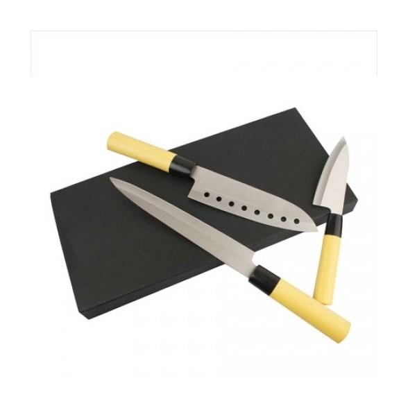 Set  cuchillos con estuche