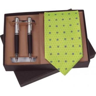 Set corbata  bolígrafo y portaminas