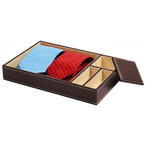 Caja polipiel para corbata