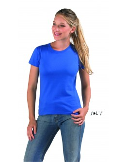 Camiseta mujer cuello redondo IMPERIAL de Sol's