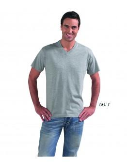 Camisetas publicitarias Sol's con cuello de pico VICTORY.