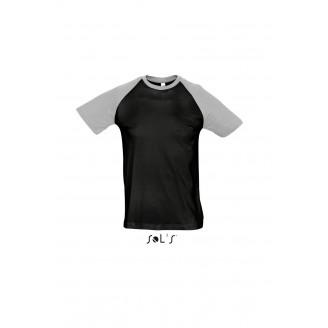 Camisetas publicitarias Sol's manga color / Camisetas Rugby personalizadas