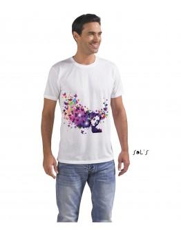Camiseta unisex poliéster SUBLIMA