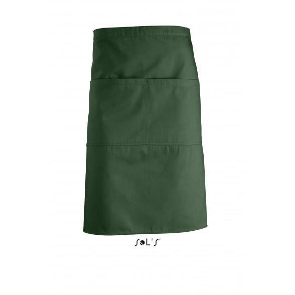 Delantal personalizado medio con dos bolsillos GREENWICH