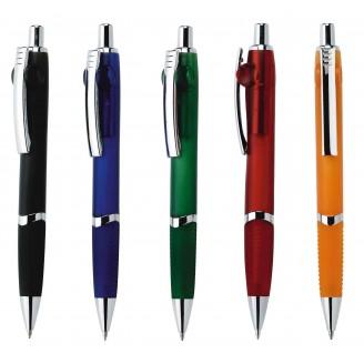 Bolígrafo publicitario plástico clip metálico