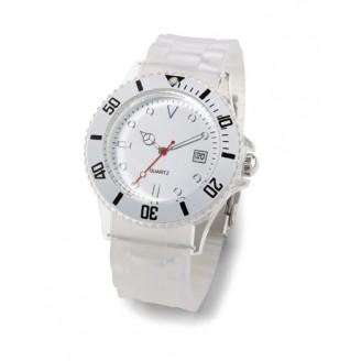 Reloj analógico con fecha