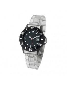 Reloj de pulsera unisex con calendario