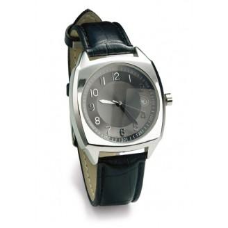 Reloj con correa de PU y diferentes funciones.