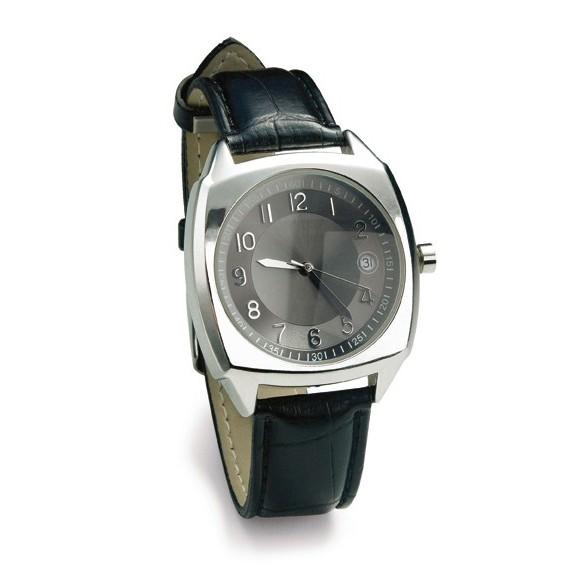 Reloj pulsera con correa de PU. Relojes de pulsera publicitarios