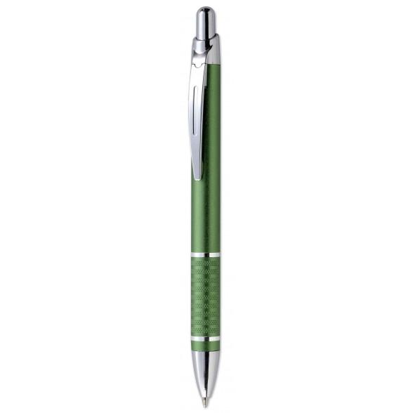 Bolígrafo aluminio con pulsador