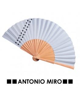 Abanico Parix Varillas Peral Pulido. Antonio Miro.