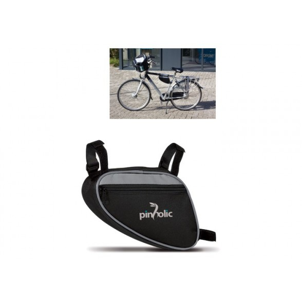 Bolsa triangular para bicicleta