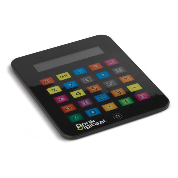 Calculadora en forma de tableta