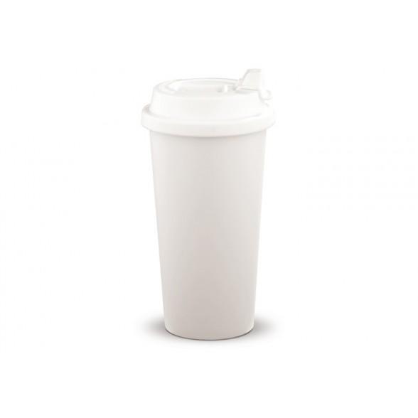 Taza con tapón hermético ideal para viaje