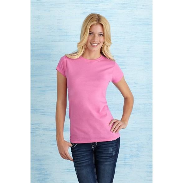 Camiseta Ring-spun Entallada Mujer