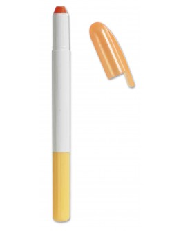 Marcador fluorescente de cera