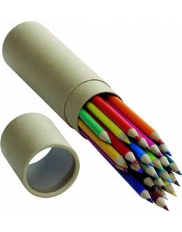Estuche con 24 lápices de colores