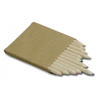 Caja 12 lápices cortos de...