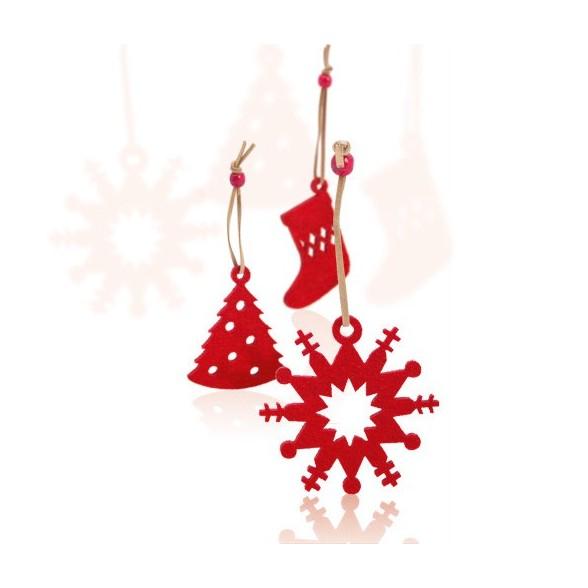Set detalles Navidad. 9 Piezas