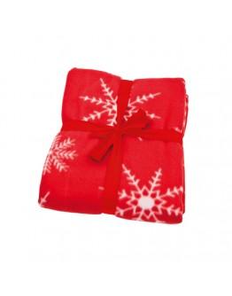 Mantas polares personalizadas Navidad / Mantas Publicitarias