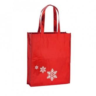 Bolsa publicitaria Navidad. Non-Woven Laminado
