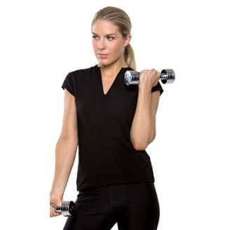 Camiseta Fitness Mujer