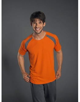 Camiseta Deporte Tagless® Hombre