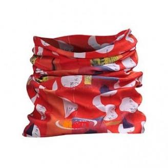 Braga cuello personalizada todo color. A partir 500 pzas