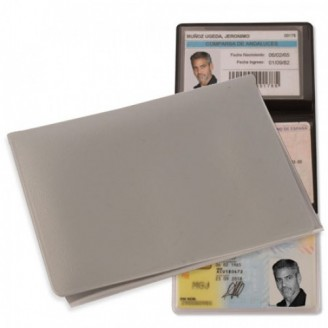 Porta Tarjetas Triple de PVC / Fundas Portatarjetas Personalizadas