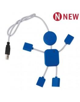Puerto USB Man 2.0 4 Puertos