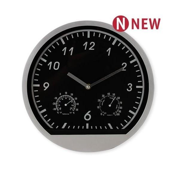 Reloj con Estación Meteorologica.Medición de Temperatura y Humedad