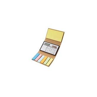 Bloc Notas publicitario Cartón Reciclado calculadora